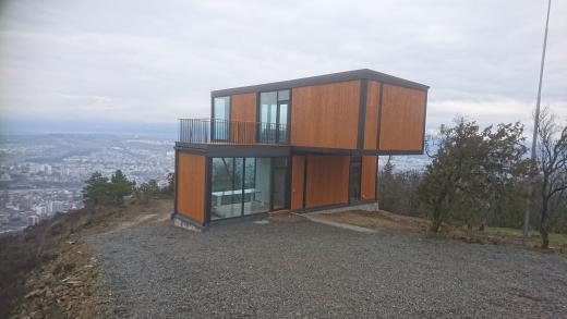 VIII - 2017 – 2018 Tbilisi Hills, Gruusia - Golfi Akadeemia, Service hoone ja Müügikontor.